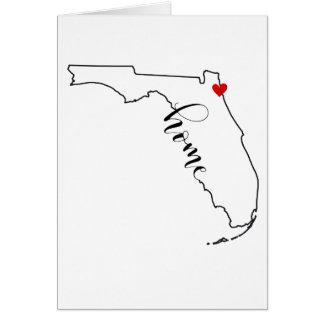 Cartões de nota Home de Florida Jacksonville