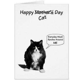 Cartões de nota mal-humorados do dia das mães do