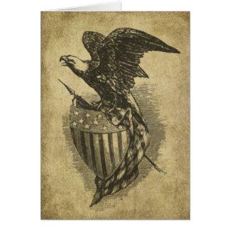 Cartões de nota Prim de Lil da águia referente à