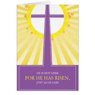 Cartões de páscoa religiosos: É aumentado