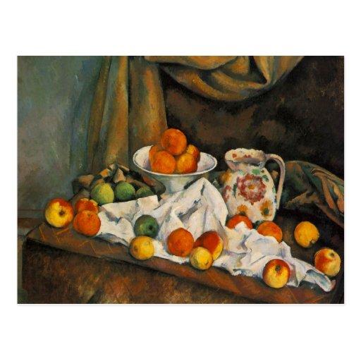 Cartões de Paul Cezanne, presentes, os bolsas, can Cartao Postal