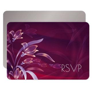 Cartões | de prata florais elegantes do design