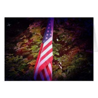 Cartões de presente - bandeira americana