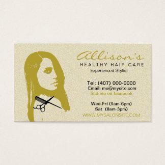 Cartões de visitas 003 do cabeleireiro do