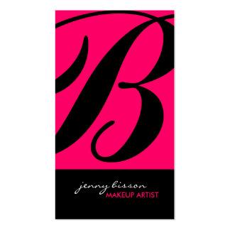 Cartões de visitas à moda & corajosos do artista d