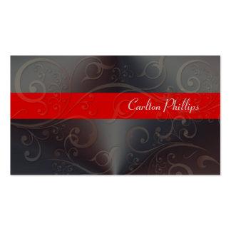 Cartões de visitas altivos do consultor de