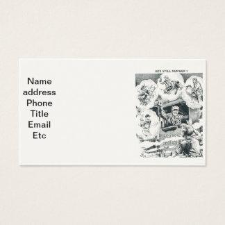 Cartões de visitas americanos do engenheiro do