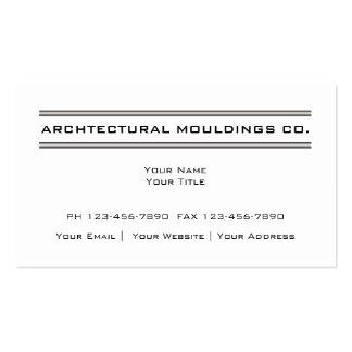 Cartões de visitas arquitectónicos