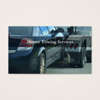 Cartões de visitas automotrizes do reboque