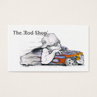 Cartões de visitas automotrizes dos desenhos