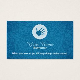Cartões de visitas Babysitting