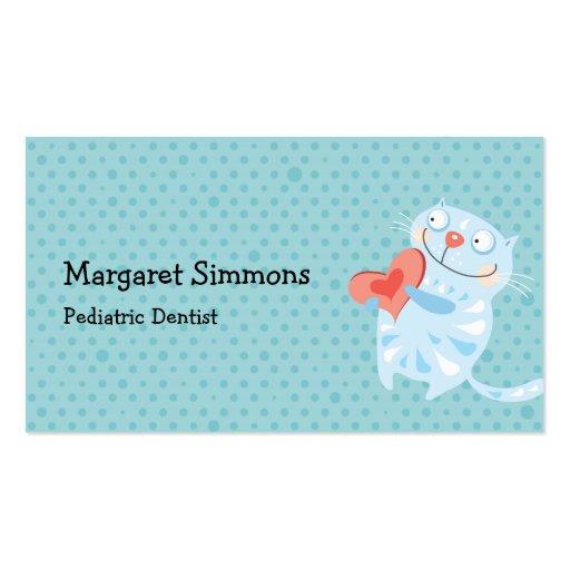 Cartões de visitas bonitos das crianças dos