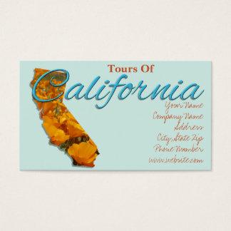 Cartões de visitas - CALIFÓRNIA