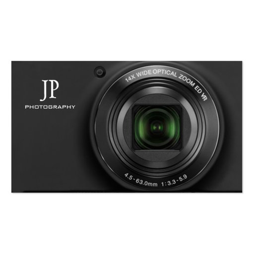 Cartões de visitas compactos da fotografia da câma