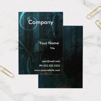 cartões de visitas contemporâneos