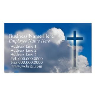 Cartões de visitas cristãos evangélicos
