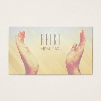 Cartões de visitas curas da ioga da oração das