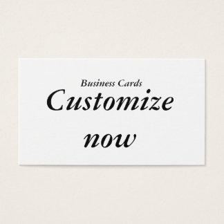 Cartões de visitas customizáveis
