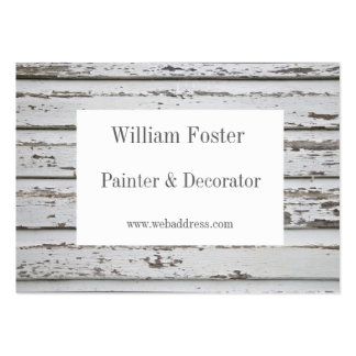 Cartões de visitas customizáveis do pintor e do