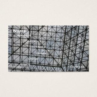 Cartões de visitas da arquitetura de Structual