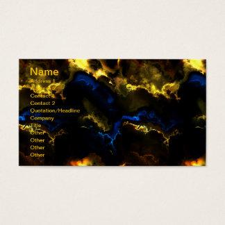Cartões de visitas da arte 3 - 11 do Fractal