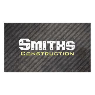Cartões de visitas da construção e da manutenção
