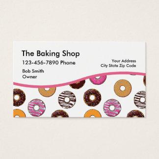 Cartões de visitas da filhós da padaria