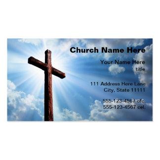Cartões de visitas da igreja