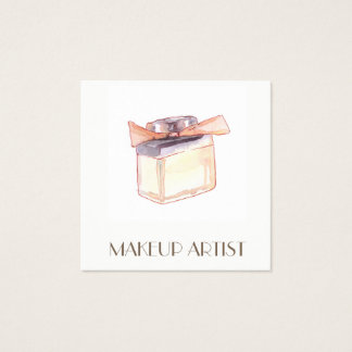 Cartões de visitas da ilustração do perfume