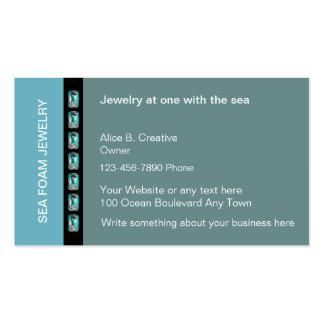 Cartões de visitas da jóia do artesanato