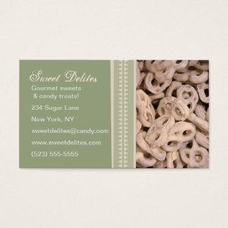 Cartões de visitas da loja/padaria/doces dos doces