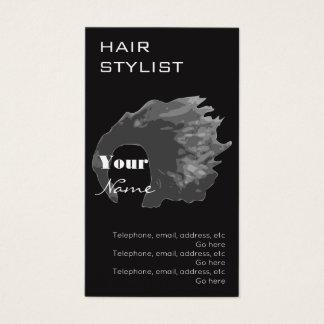 Cartões de visitas da nomeação do cabeleireiro