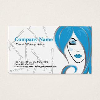 Cartões de visitas da nomeação do salão de beleza