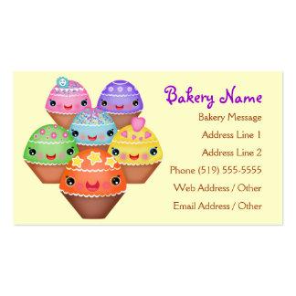 Cartões de visitas da padaria/comensal/café
