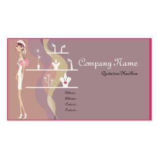 Cartões de visitas da senhora Jóia Compra