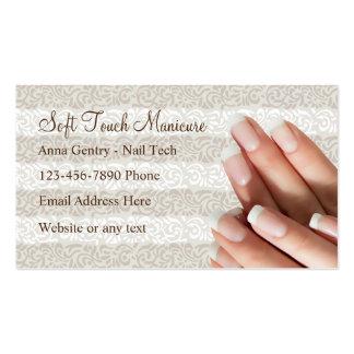 Cartões de visitas da tecnologia do prego do cartão de visita