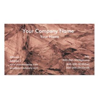 Cartões de visitas da textura da terra