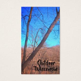 Cartões de visitas das árvores das madeiras de