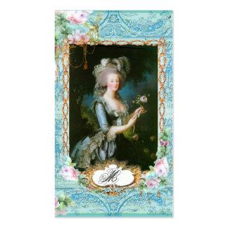 Cartões de visitas de Marie Antoinette