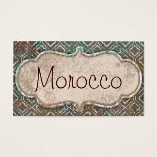 Cartões de visitas de Marrocos
