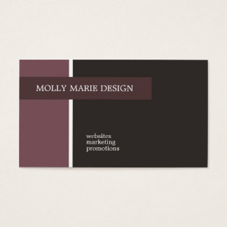 Cartões de visitas de Molly Marie