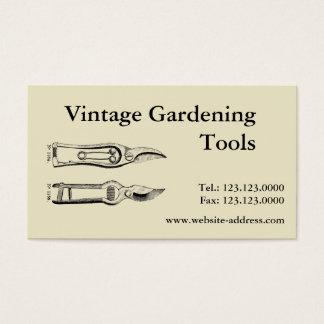 Cartões de visitas de Pruners das ferramentas de