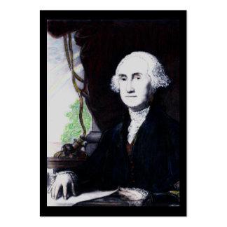 Cartões de visitas de troca Washington do museu da