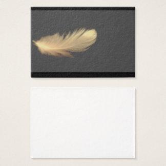 Cartões de visitas de WingThick da pena