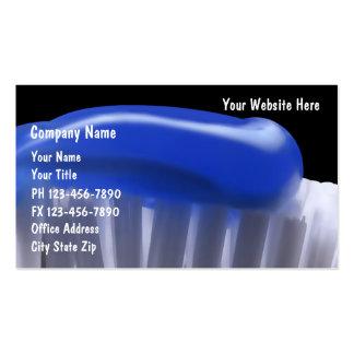 Cartões de visitas dentais
