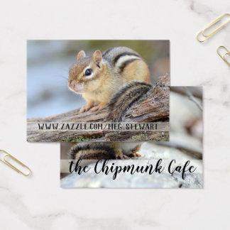 Cartões de visitas do Chipmunk