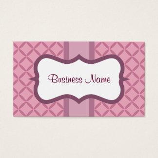 Cartões de visitas do costume da ameixa do Lilac