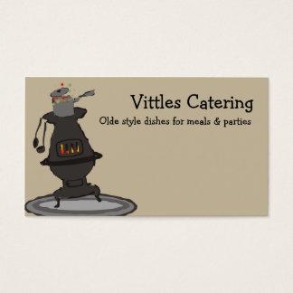 Cartões de visitas do cozinheiro chefe do cozinhar