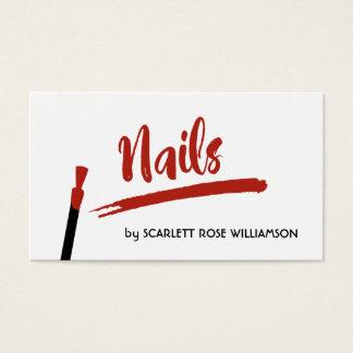 Cartões de visitas do estilista do salão de beleza