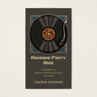 Cartões de visitas do logotipo do registro de
